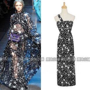 Звёздное платье фото