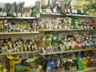 Семена овощных и цветочных культур, грунты для рассады