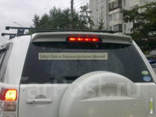 Спойлер. Suzuki Grand Vitara Suzuki Escudo