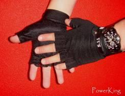 """Тактические перчатки """"5.11 Tactical series"""" беспалые. Цвет: Черный"""