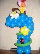 Букеты, фигуры из воздушных шаров. Под заказ
