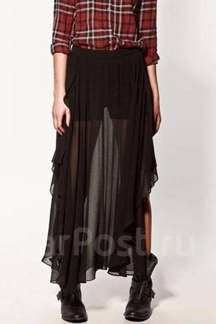 Длинная юбка zara