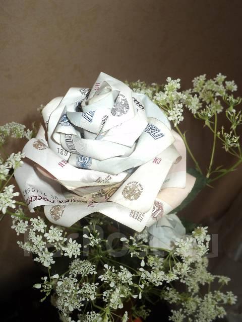 фото букет из денег