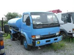 Nissan dizel, 1997. Дорожно поливочная машина, 7 000 куб. см., 4,00куб. м.