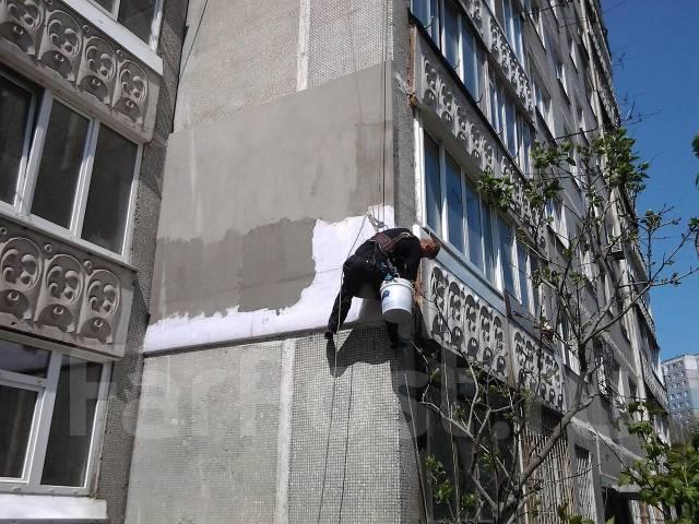 Высотные работы. Качественно утепляем стены! Квадрат от 1400р.