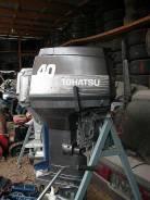 Tohatsu. 40,00л.с., 2х тактный, бензин, Год: 1995 год