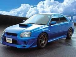 Накладка на бампер. Subaru Impreza WRX STI, GDB, GD. Под заказ