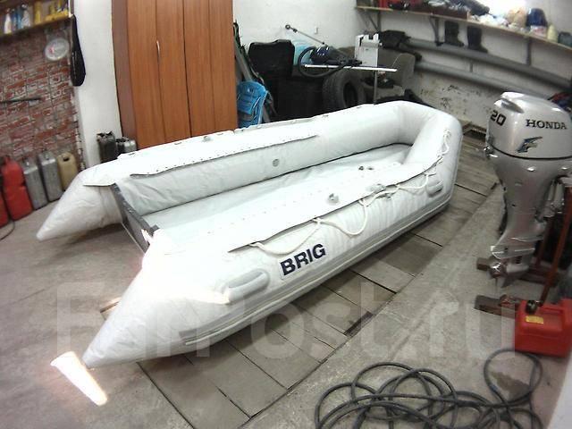 лодка бриг мотор хонда