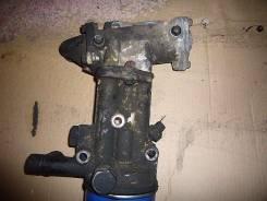 Корпус масляного фильтра. Mitsubishi Canter Двигатель 4DR7