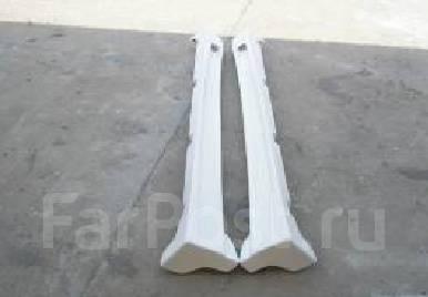 Порог пластиковый. Mitsubishi Lancer Evolution