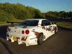 Nissan Skyline R34 2dr Bomex Задний бампер. Отправка.
