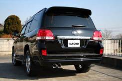 Глушитель. Toyota: Land Cruiser Cygnus, 4Runner, Sequoia, Tundra, Land Cruiser Двигатель 2UZFE