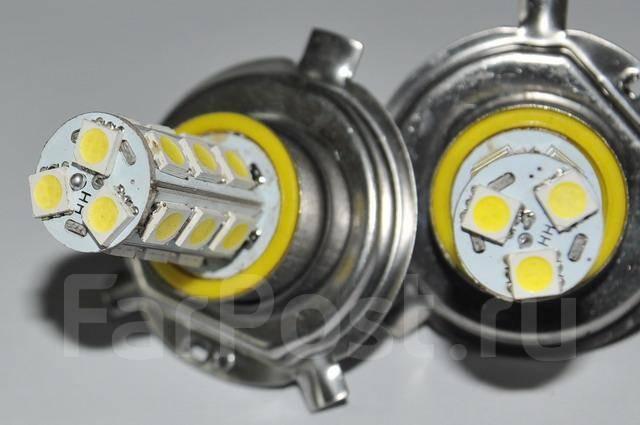 Све�одиодн�е ламп� �окол� h4 18smd 2 ���ки 12 Вол��