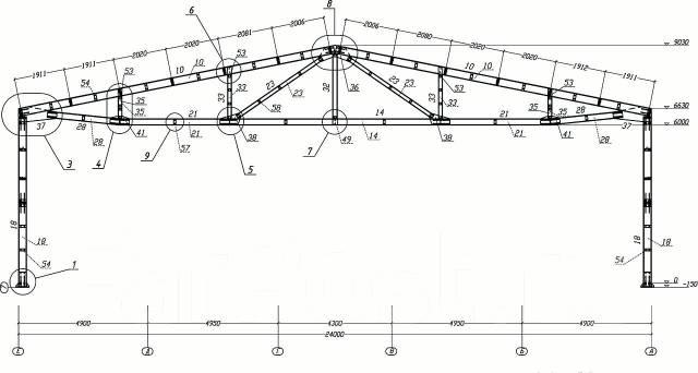 Производство металлоконструкций на болтовом соединении