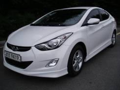 Обвес кузова аэродинамический. Hyundai Avante, MD