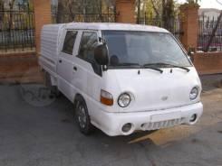 Hyundai Porter. Двухкабинный бортовой грузовик, 2 700куб. см., 1 000кг., 4x2