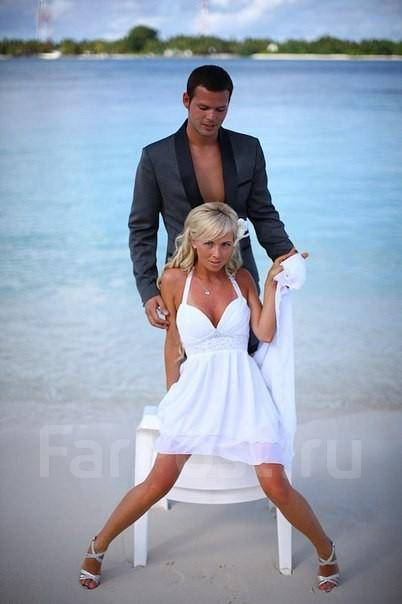 Платья на свадьбу у моря