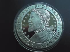 Шотландия 1 экю 1993 г. Ag Proof-