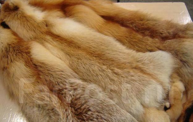 Продам шикарную шкурку рыжей лисы! 2 штуки!. 42
