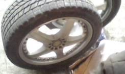 Кованное разборное литье Volk Racing с зимней свежей резиной 215/45/17. 7.0x17 5x100.00 ET29