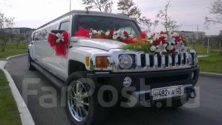 Лимузин Hummer H3 на Ваше торжество - 3000р/час!. С водителем