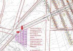 Продам земельный участок под строительство по ул. Донской. 1 200кв.м., собственность, электричество, вода