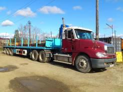 Freightliner Columbia. Седельный тягач с полуприцепом, 14 000куб. см., 30 000кг., 6x4