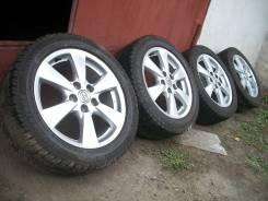 Зимний комплект колёс для Toyota + Brigstone Revo 2 *215/55* R17. 7.0x17 5x114.30 ET50