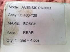 Колодка тормозная. Toyota Avensis, AZT250 Двигатель 1AZFSE