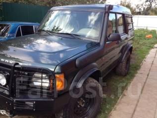 Шноркель. Land Rover Discovery