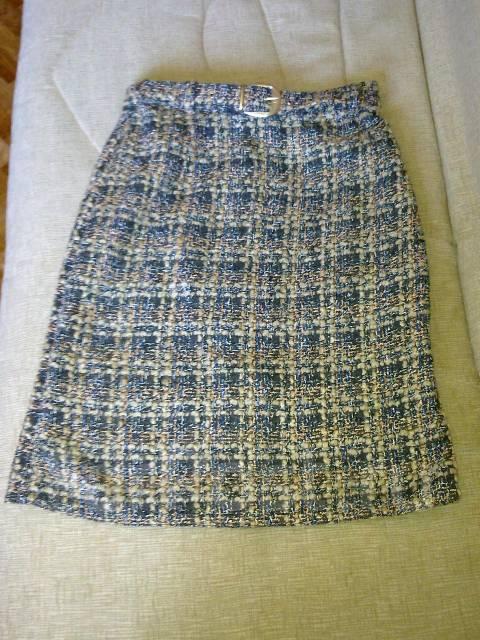 Ткань букле юбки