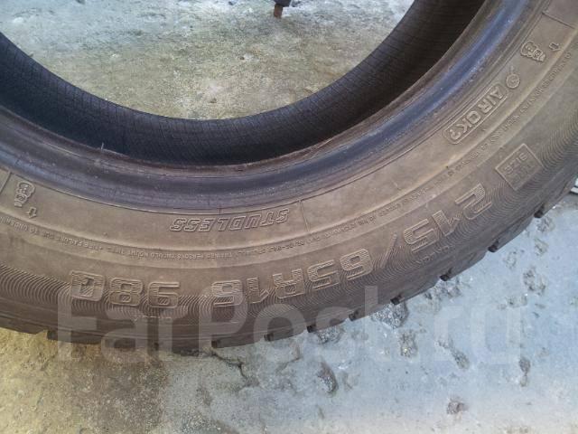 Goodyear ICE NAVI ZEA, 215/65 R16. Зимние, без шипов, износ: 40%