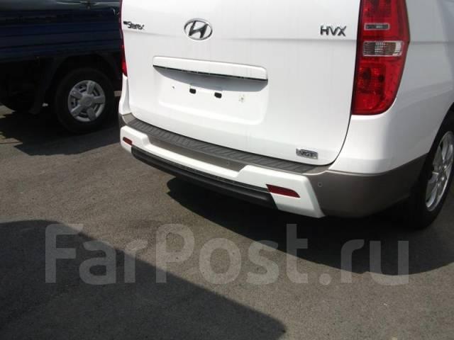 Накладка на бампер. Hyundai Starex Hyundai Grand Starex