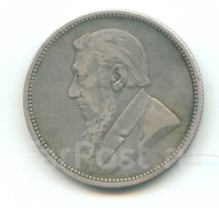 ЮАР (Трансвааль) - 2 шиллинга 1895 Серебро