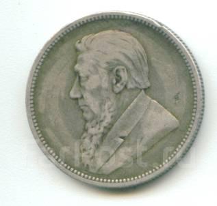 ЮАР (Трансвааль) - 2 шиллинга 1894 Серебро