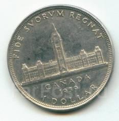 Канада доллар 1939 Georg VI серебро