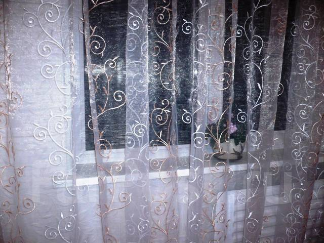 тюль органза с вышивкой фото