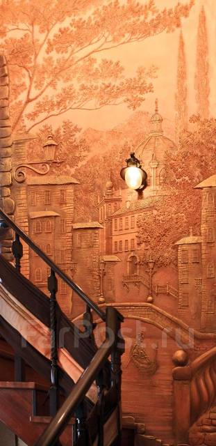 3D барельеф, художественное панно и маски - любой сложности!. Тип объекта дом, коттедж, и любая поверхнасть, срок выполнения месяц