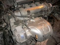Двигатель. Toyota Corona Exiv, ST182 Двигатель 3SGE
