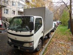 Toyota Dyna. Тентованый грузовик д-3,1: ш-1.6, :в-1.8:, 4 600 куб. см., 2 500 кг.