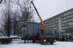 Грузовики с краном 3,5,7, тонн борта 5,10 тонн(контейнера, блоки, гара