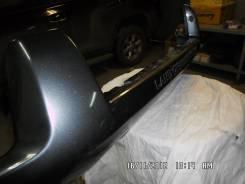 Накладка на бампер. Toyota Land Cruiser Prado, GDJ150W, TRJ150, GRJ150L, GRJ150, TRJ150W, GRJ150W, GDJ150L, KDJ150L Двигатели: 1GDFTV, 2TRFE, 1GRFE, 1...