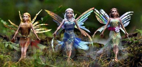 Летающие феи.