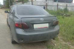 Спойлер. Toyota Corolla