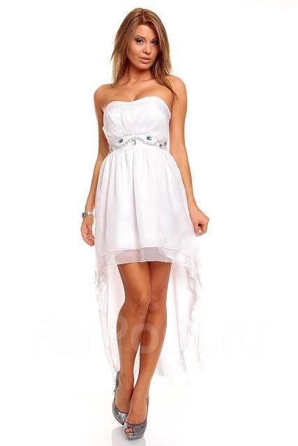 Белые платья со шлейфом фото
