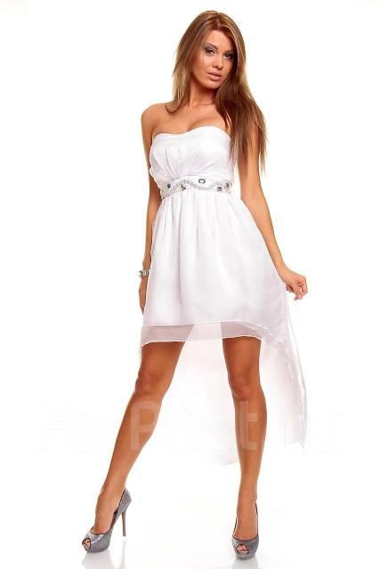 белые платья коктейльные фото