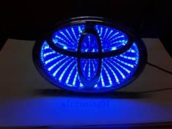 3D подсветка логотипа Toyota