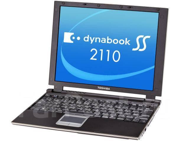 "Toshiba Dynabook SS. 12"", ОЗУ 256 Мб и меньше"