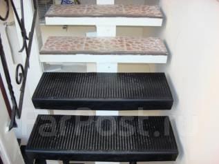 """Отделка """"под ключ"""" лестницы противоскользящими покрытиями. Тип объекта публичные заведения, срок выполнения неделя"""