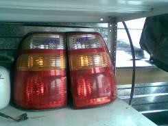 Фара. Toyota Land Cruiser, UZJ100W, UZJ100, UZJ100L Двигатель 2UZFE